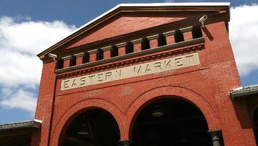 Eastern Market in Detroit. Picture taken April 2014.