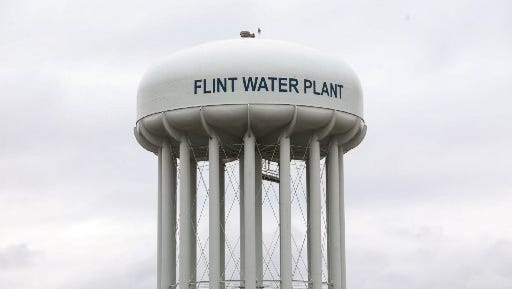 The state started buying bottled water for its employees in Flint in January 2015.