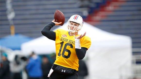 Former Louisiana Tech quarterback Jeff Driskel (16)