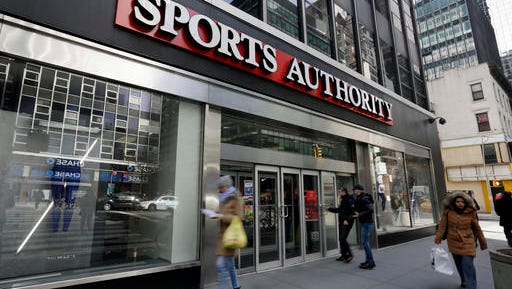 Dick's Sporting Goods Inc. and Academy Sports + Outdoors have shown interest in buying the assets of Sports Authority, the sports retailer that filed for bankruptcy in March.
