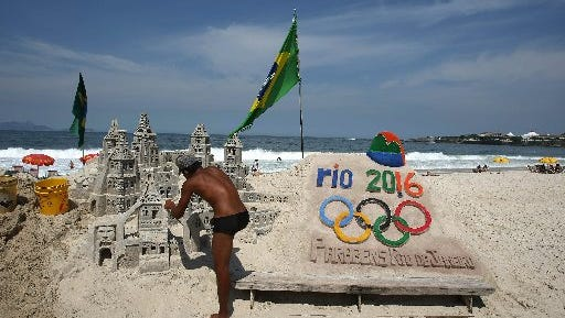 Building sand castles isn't an Olympic sport _ yet.