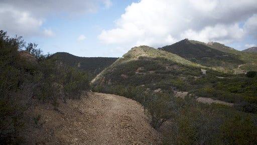 The Santa Monica Mountains Recreation Area.