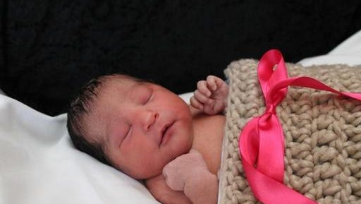 This photo provided by the Wichita Police shows Sophia Victoria Gonzalez Abarca, a missing week-old baby in Wichita, Kan.  Police in Kansas say the week-old newborn girl who went missing after her mother was shot to death has been found alive in Dallas. Chief Gordon Ramsay said Saturday, Nov. 19, 2016 that suspects in the death of 27-year-old Laura Abarca-Nogueda took the child and fled to Texas, where Sophia Victoria Gonzalez Abarca was found safe. Ramsay said two people are in custody.