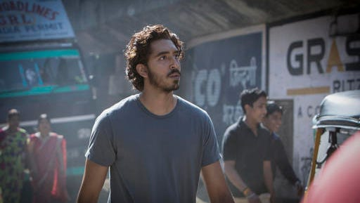 "In this image released by The Weinstein Company, Dev Patel appears in a scene from ""Lion."""