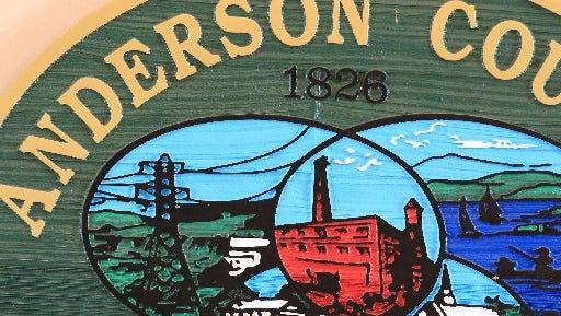 Anderson County seal.