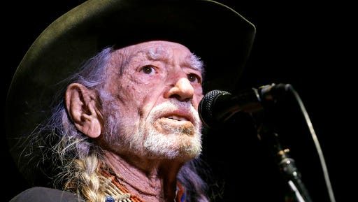 "FILE - In this Jan. 7, 2017, file photo, Willie Nelson performs in Nashville, Tenn. Nelson's latest album, ""God's Problem Child,"" will be released on Friday, April 28."