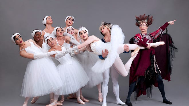 Les Ballets Trockadero de Monte Carlo brings its hilarious twist on classic ballet to the Prince Theater in Philadelphia