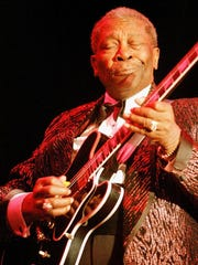 "Blues legend B.B. King blasts out ""Let the Good Times"