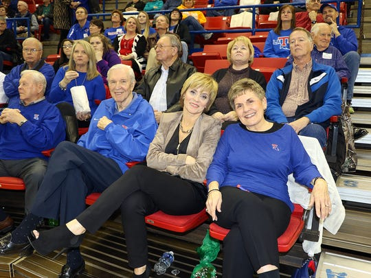 Current Baylor coach and former Lady Techster was back in Ruston on Sunday for the first time since 2000.