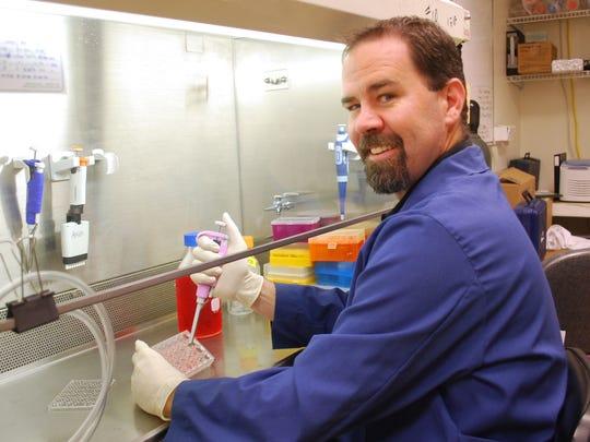 Ryan Ashley, assistant professor of animal and range
