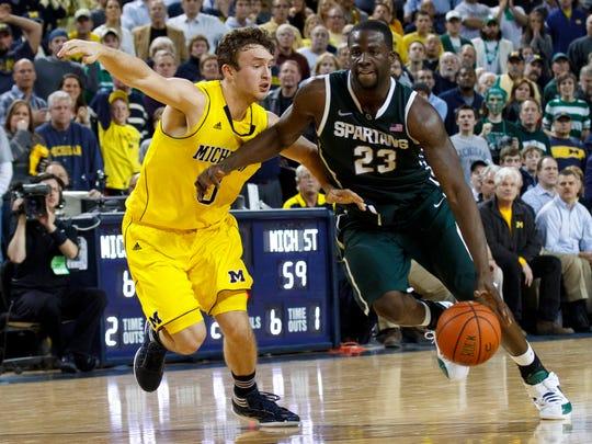 Draymond Green will never like the University of Michigan.