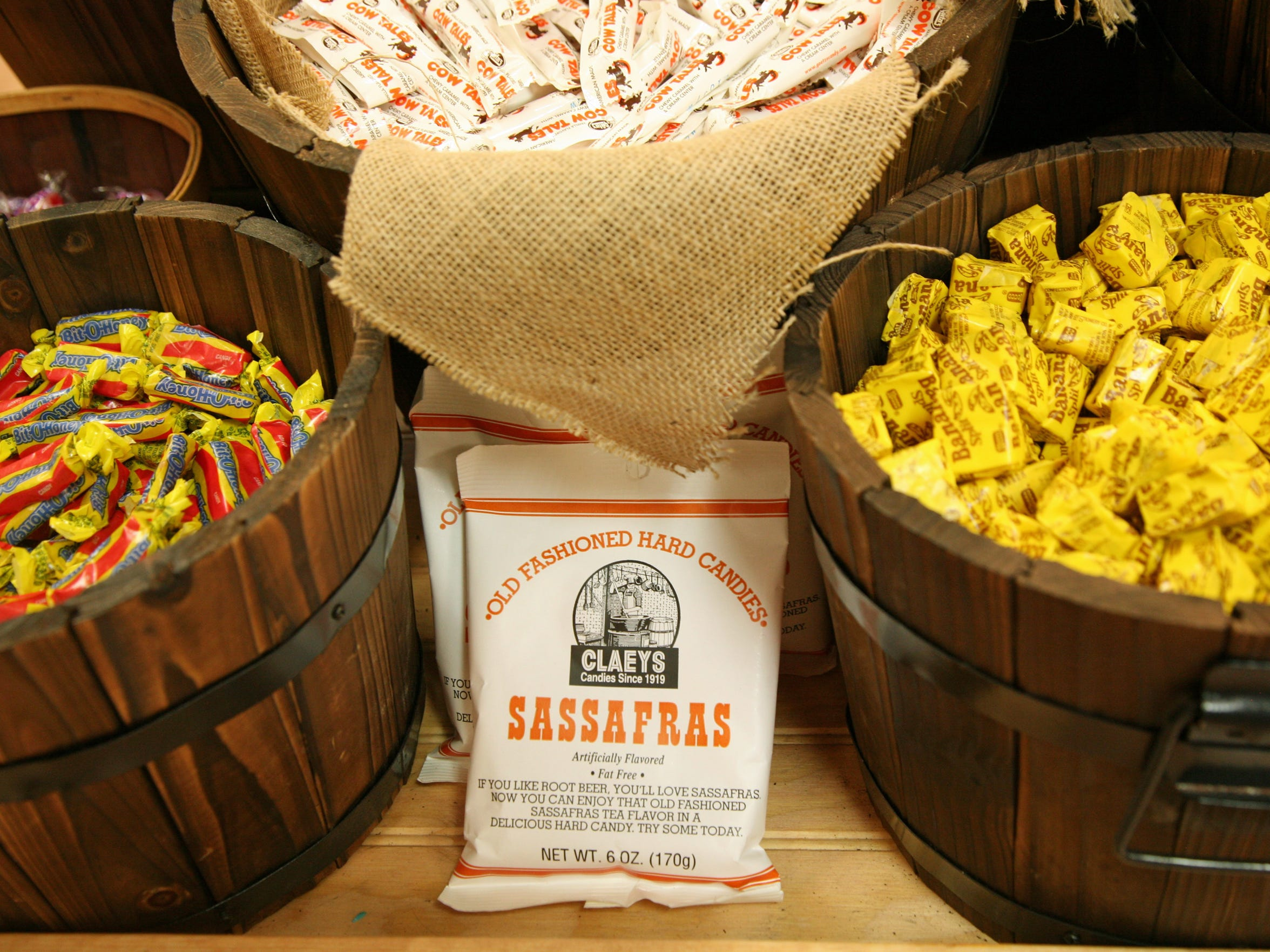 Burgess General Store in Pickens sells a variety of candy.