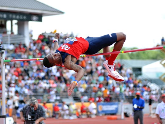 Former Ole Miss standout Ricky Robertson will represent the United States in the high jump in the Olympics.