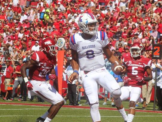 Louisiana Tech quarterback J'Mar Smith spoke Friday