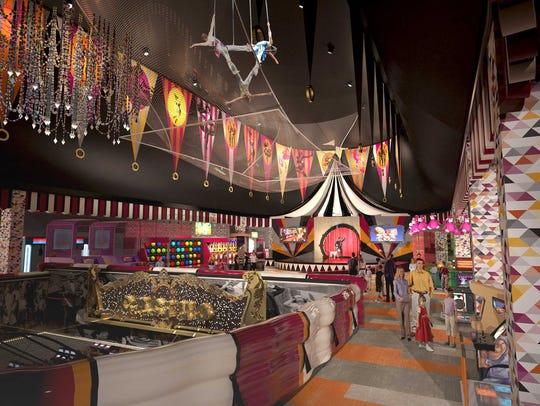 New Carnival Midway at Circus Circus Reno concept