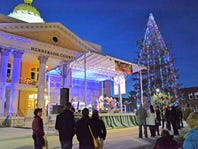 Christmas comes to Hendersonville