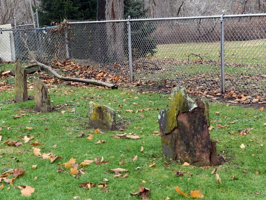 Oradell, New Jersey  12/7/16 Voorhis Cemetery of Oradell.