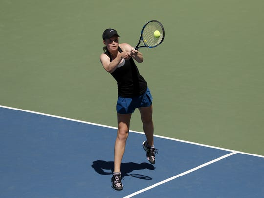 Poudre's Ky Ecton was named the girls tennis Class