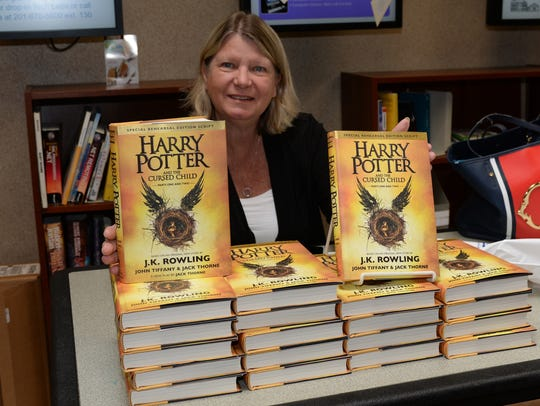 Harry Potter Day at the Ridgewood Library.  Pat Boyer