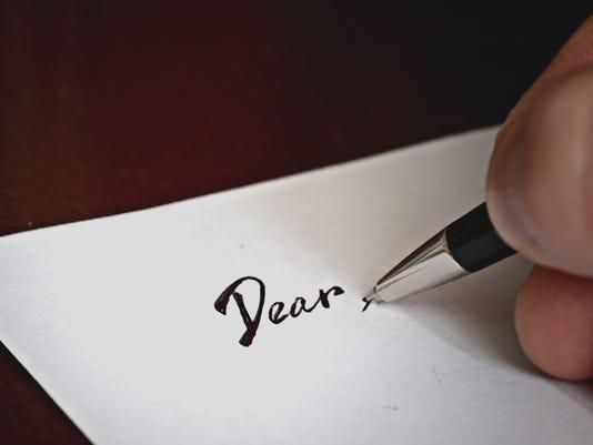 pen to write a letter dear