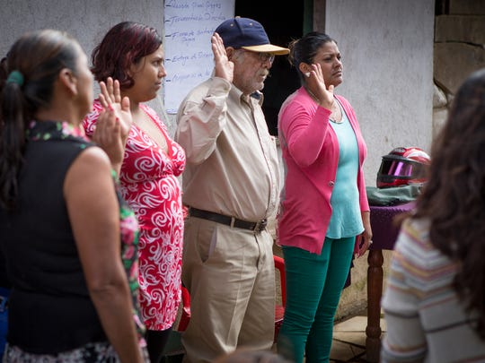 Rainbow Network micro loan recipients make a public oath before their neighbors and God to repay their loans and even agree to take on the debt of their fellow borrowers if they fall behind. The loan program has been an important economic engine for both the communities and for Rainbow Network.