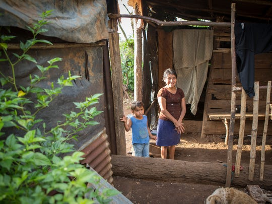 Making a home out of a house of sticks and mud is a challenge for the poor in many areas of rural Nicaragua.