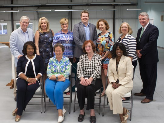 This group attended the Helping People Succeed Annual Meeting. Back row (l-r) Lee Borellis, Cher Fisher, Bonney Johnson, Kevin Burn, Kelly Quinn, Beth Essenwine Front row (l-r) Phyllis Gillespie, Bliss Browne, Joan Jefferson, Claire Nash