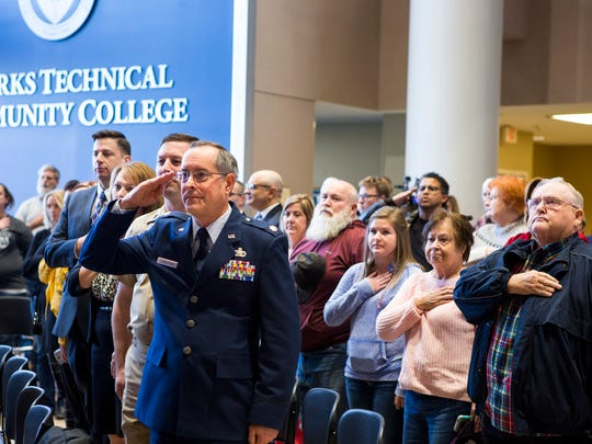rks Technical Community College hosted a Veterans Day event Friday. During the ceremony, OTC announced it was creating a program to help veterans enroll in college and access their military benefits.