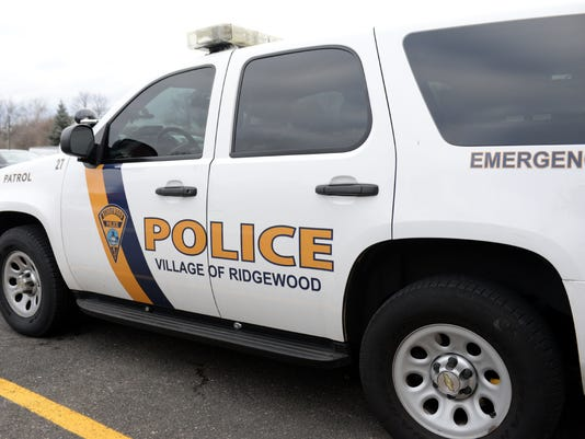 Ridgewood police vehicle