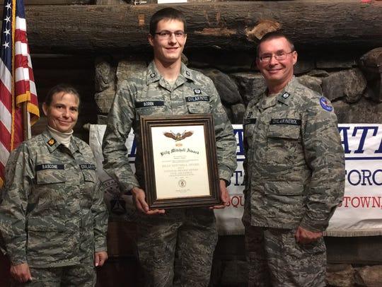 On Nov. 29, Cadet 2nd Lt. Robert G. Boden, Cadet Deputy