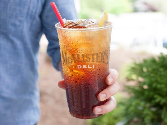 """Sweet tea is first and foremost our signature,"" said"