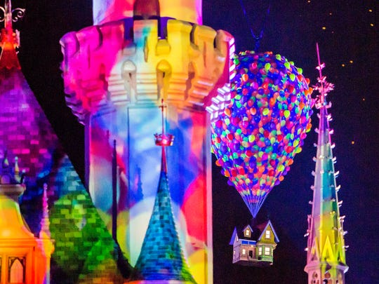"""Together Forever – A Pixar Nighttime Spectacular"""