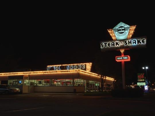 Retro milkshakes and burgers come in no short supply at Steak n' Shake.