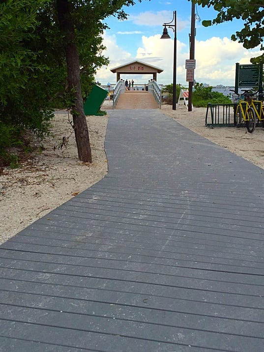 Bigger lee bed tax haul helps projects like sanibel pier for Laura lee fishing report