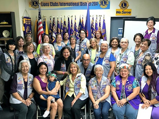 As part of the Guam Sunshine Lions Club's on-going