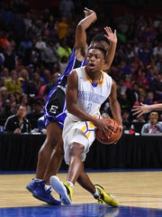 Wren plays Eastside during the Class AAAA Boys Upper State Championship at Bon Secours Wellness Arena on Friday, February 24, 2017.