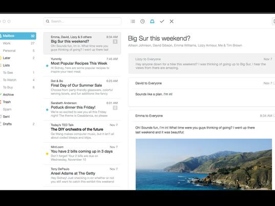 Mailbox for Mac
