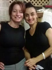 Anna Petrelli (left) and Diana Lahara at their family-run Gigi's Restaurant and Pizzeria in Jensen Beach.