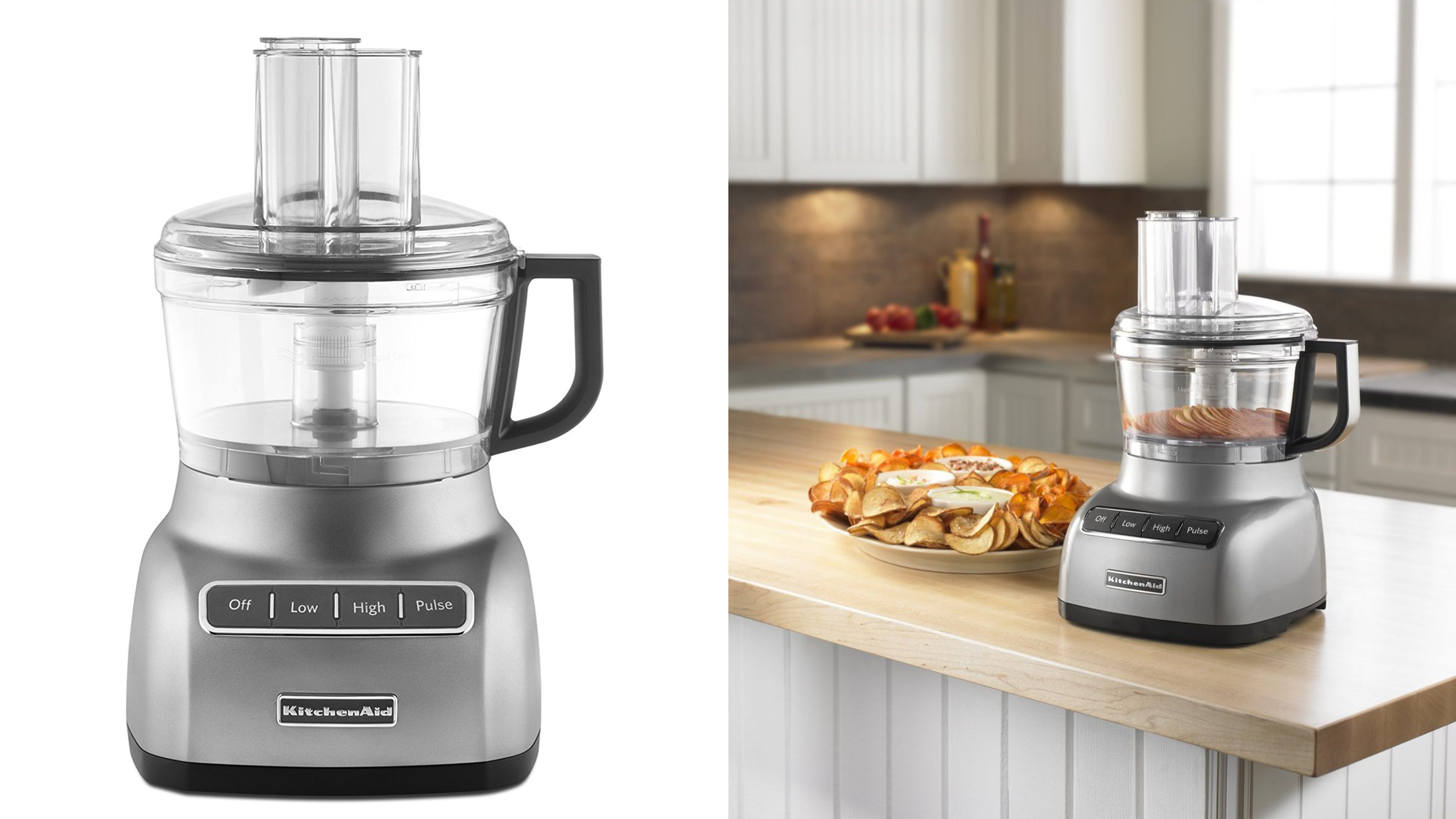 with graphite amazon food cup com kitchenaid aid kitchen system dp exactslice processor dining liquid
