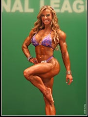 Juliana Malacarne is the guest poser at tomorrow's NPC Mississippi Bodybuilding Championships in Madison.
