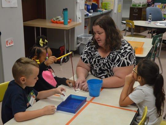 Kindergarten Success Program teacher Elizebeth Rach