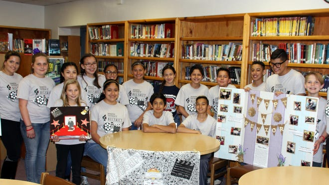 Deming Intermediate School Student Council brought hoem two second-pace finishes from the state conference held Feb. 9-11 in Las Cruces.
