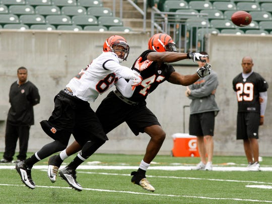 Cincinnati Bengals wide receiver Marvin Jones (82)