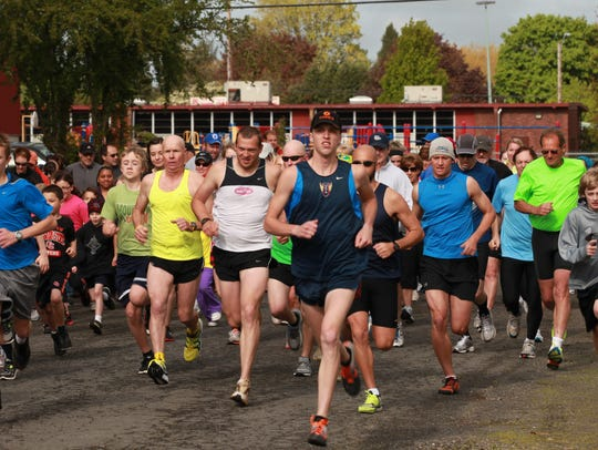 Stayton River Run is a popular, somewhat colorful event