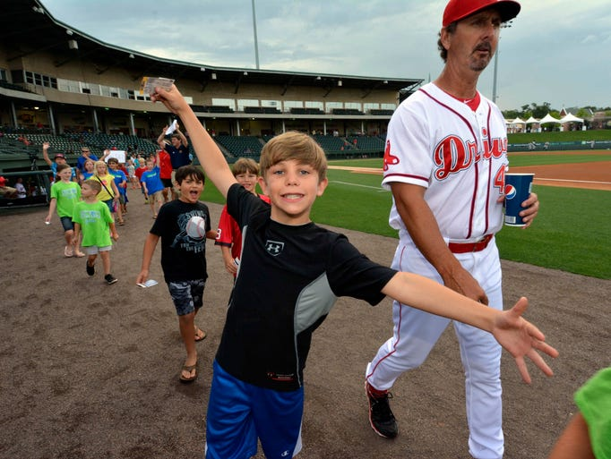 SAIL Night at Fluor Field