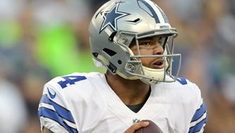 The Cowboys might be forced to go with quarterback Dak Prescott to start the season.