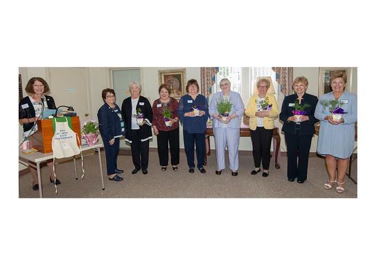 Millville Woman's Club installed new officers