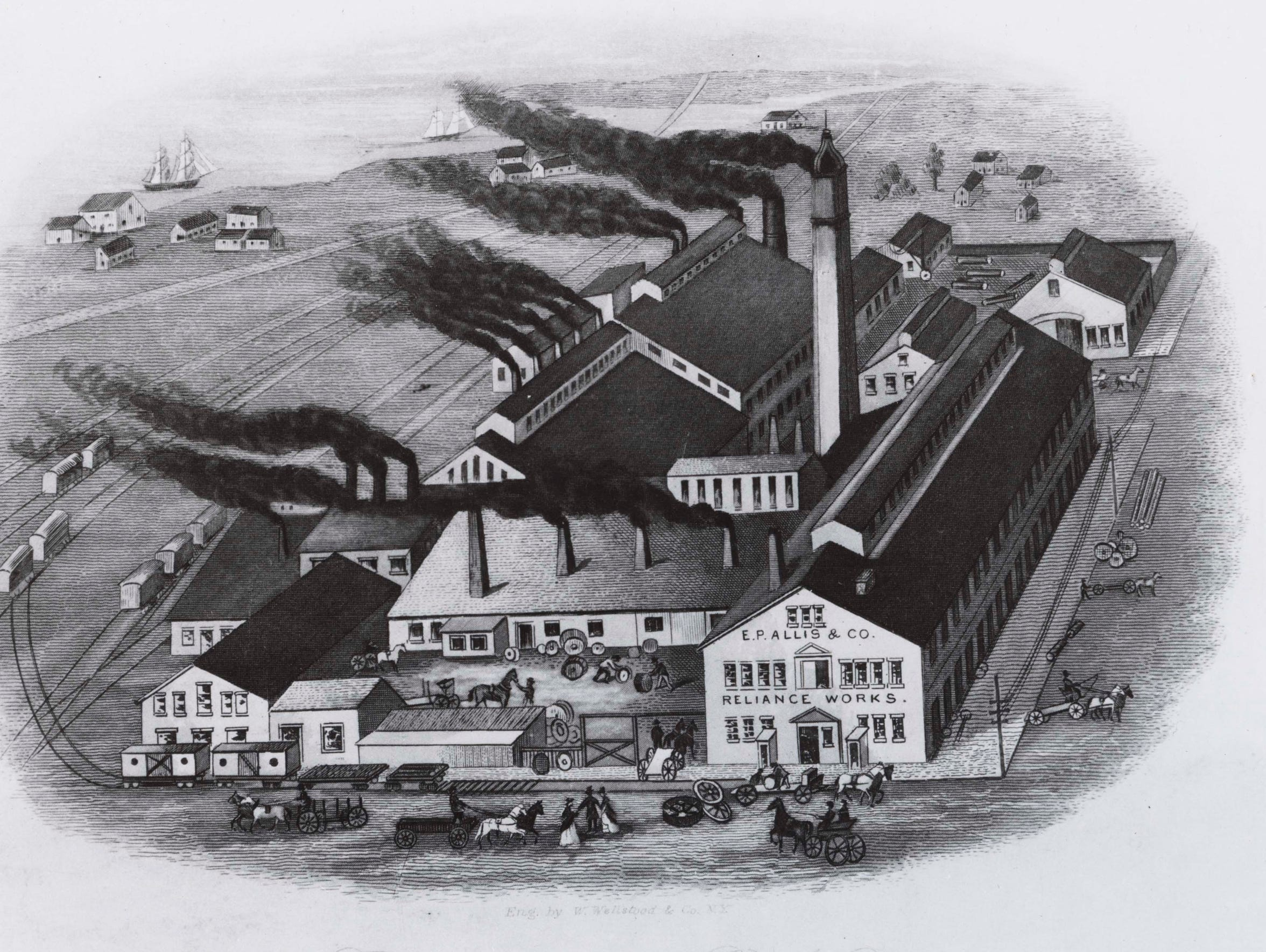 In 1867 Edward P. Allis opened his Reliance Works on