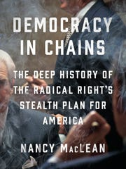 "Nancy MacLean is coming to Malaprop's for her heavily researched political publish, ""Democracy in Chains."""