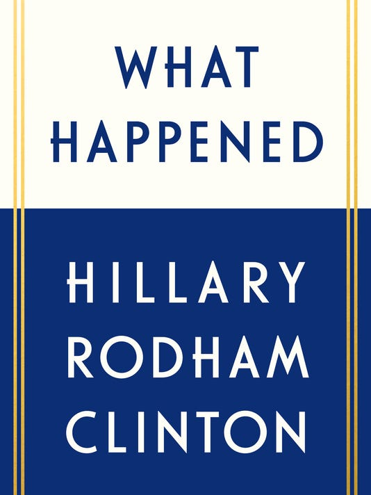 AP HILLARY CLINTON BOOK A ENT